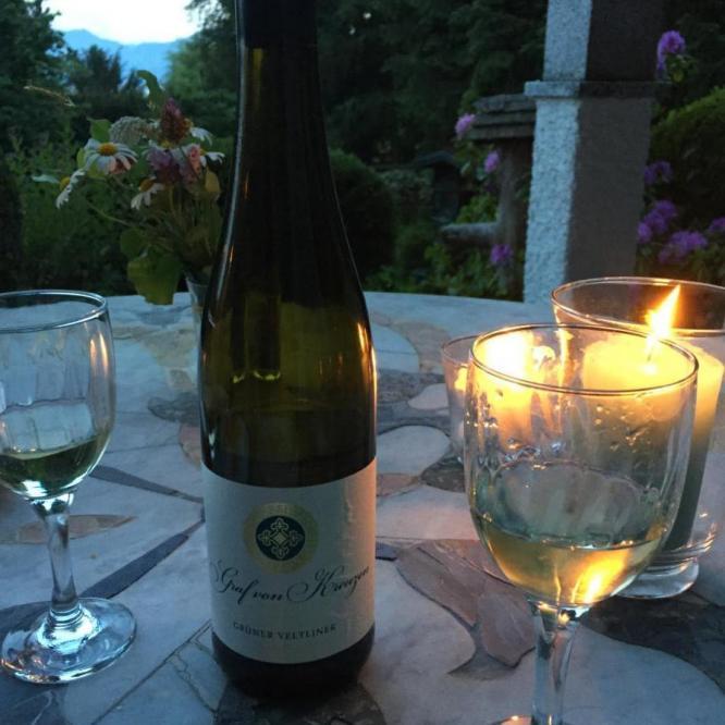 Abend auf der Terrasse